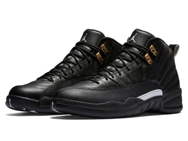 Nike Air Jordan 12 Retro черные (40-46)