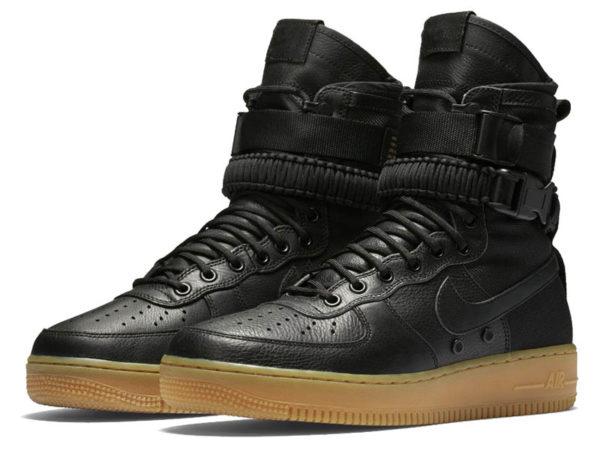 Nike Air Force 1 Special Field черные (40-46)