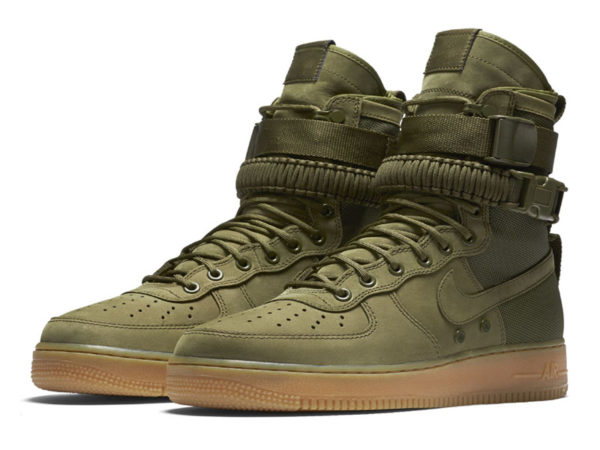 Nike Air Force 1 Special Field зеленые (40-46)