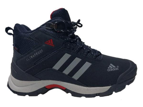Adidas Climaproof Mid на меху темно-синие (40-46)