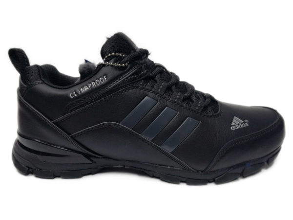 Adidas Climaproof Traxion Low на меху черные (40-46)