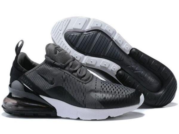 Nike Air Max 270 серые с черным (40-45)