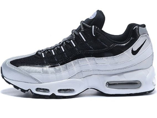 Nike Air Max 95 Essential черные с белым (35-45)