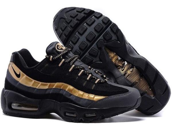 Золотые мужские кроссовки