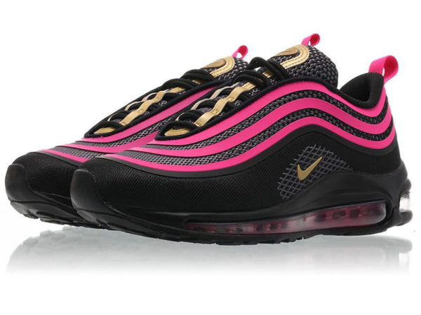 Nike Air Max 97 LX Swarovski черно-фиолетовые (35-40)