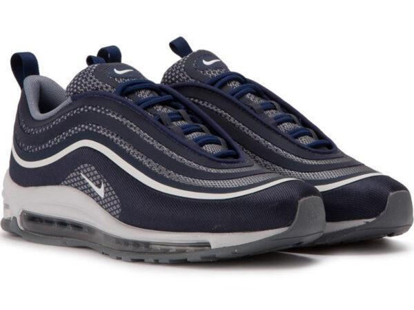 Nike Air Max 97 синие с белым (40-45)