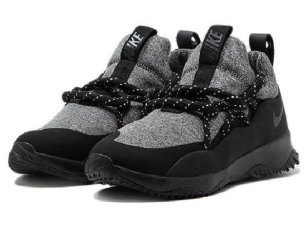 Nike City Loop черные с серым (40-45)