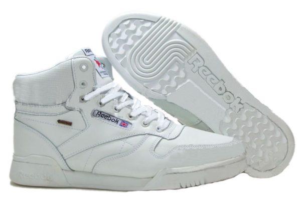 Reebok Classic Leather High White белые (40-45)