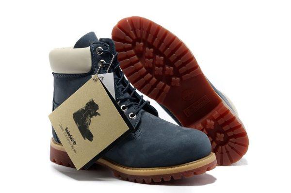 Ботинки Timberland 6 Inch Boots с мехом BLUE 40-46