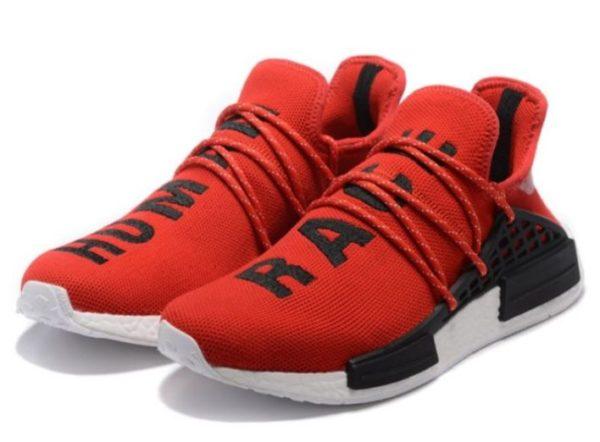 Adidas NMD Human Race красные с черным (35-44)
