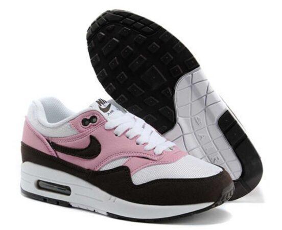 Nike Air Max 87 розовые с коричневым 35-40