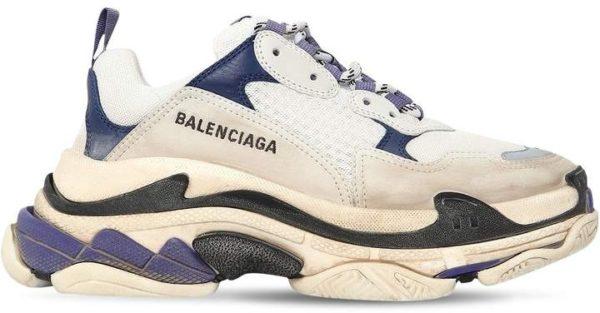 Фиолетовые кроссовки Balenciaga