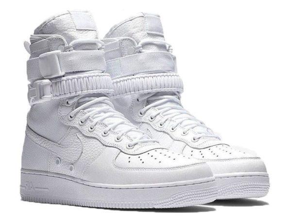 Nike Air Force 1 SF white белые (40-44)