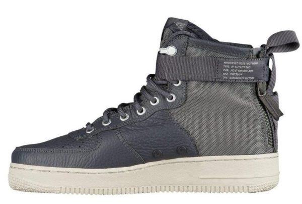 Nike Air Force 1 SF Mid серые (40-44)