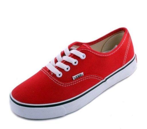 Кеды Vans red красные (36-41)