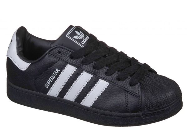 Adidas Superstar черные с белым black white (35-45)