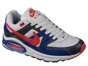 Nike Air Max 90 Skyline синие с красным (40-45)