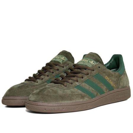 Adidas Spezial темно-зеленые мужские (40-44)