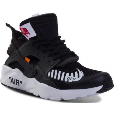 Nike Air Huarache OFF-WHITE x черно-белые (40-44)