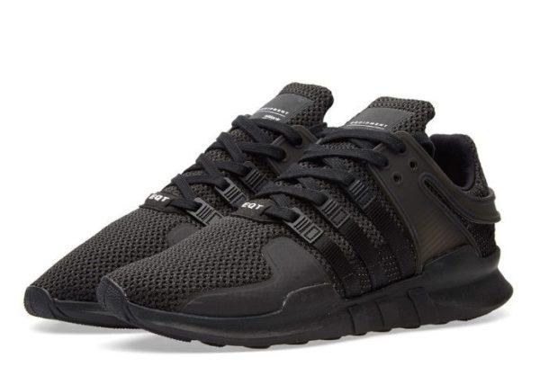 "Adidas EQT Support ""ADV"" черные (40-43)"