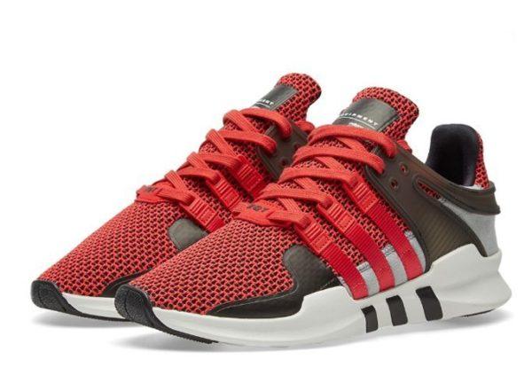 "Adidas EQT Support ""ADV"" красные с белым (40-43)"