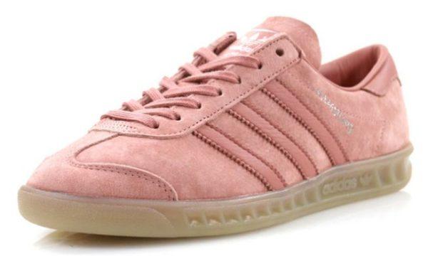Adidas Hamburg розовые (35-39)
