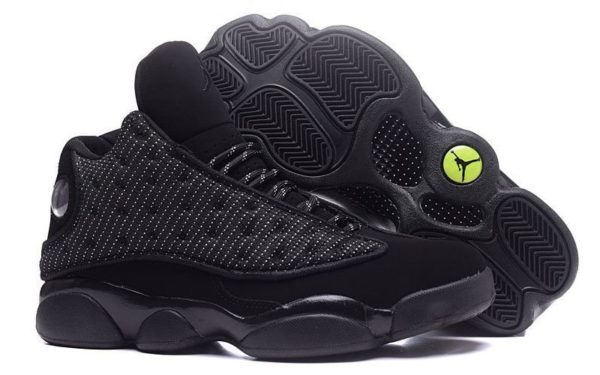 Nike Air Jordan 13 Retro черные (40-45)