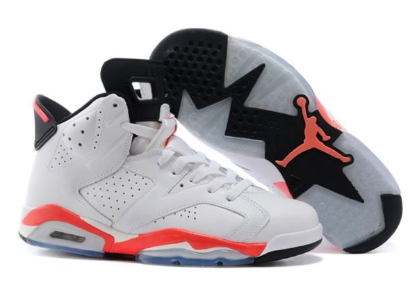 Nike Air Jordan 6 Retro белые (40-44)