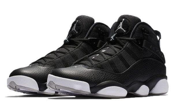 Nike Air Jordan 6 Rings черные (40-44)