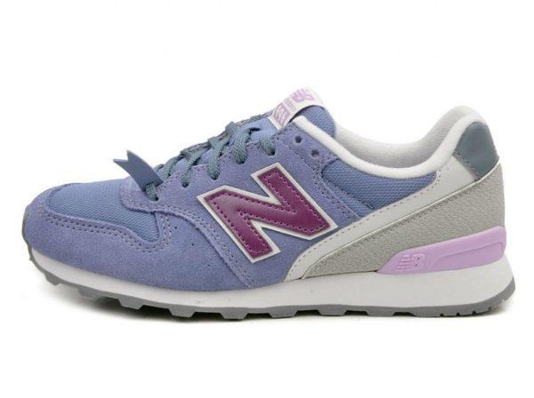Фиолетовые кроссовки New Balance