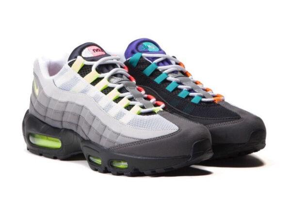 Nike Air Max 95 разноцветные (35-39)