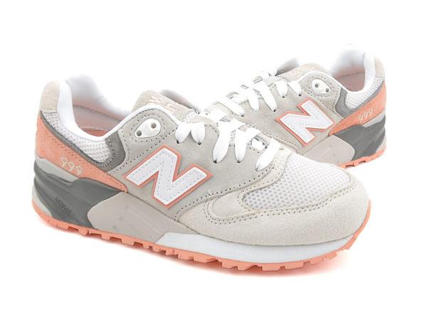 Оранжевые кроссовки New Balance