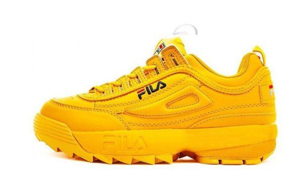 Fila Disruptor 2 желтые (35-39)