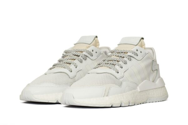 Adidas Nite Jogger белые мужские (40-44)