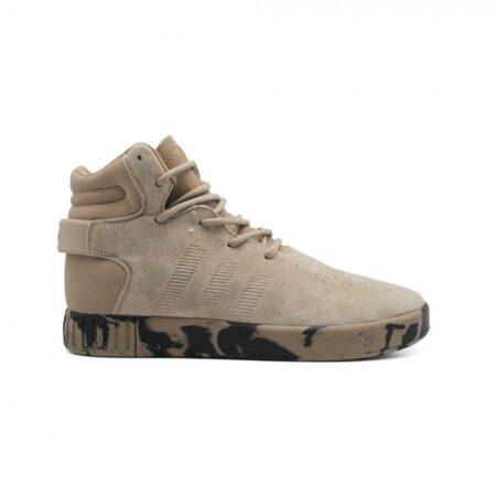 Бежевые замшевые кроссовки
