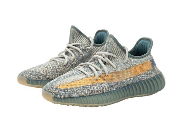 Adidas Yeezy Boost 350 V2 Static серо-голубые мужские-женские (35-44)
