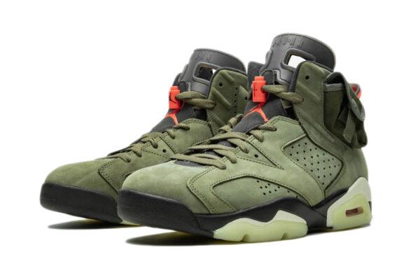 Кроссовки Nike Air Jordan 6 Travis Scott