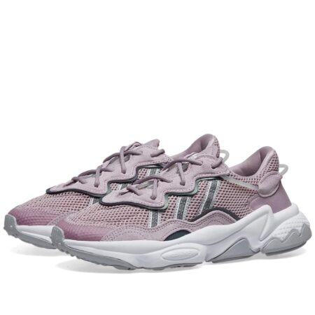 Adidas Ozweego x Raf Simons фиолетовые замша-сетка женские (35-39)