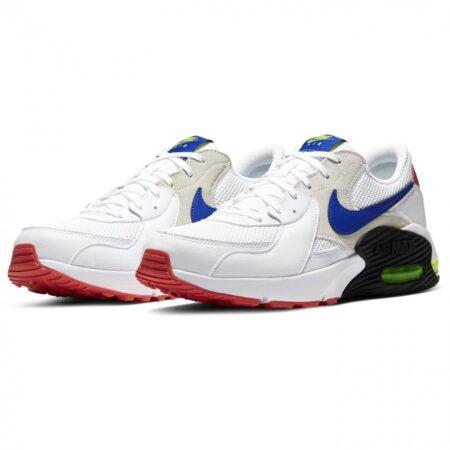 Nike Air Max 90 белые с синим мужские (40-44)