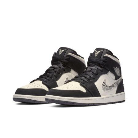 Nike Air Jordan 1 EQUALITY 2019 черно-белые кожа-нубук мужские (40-44)